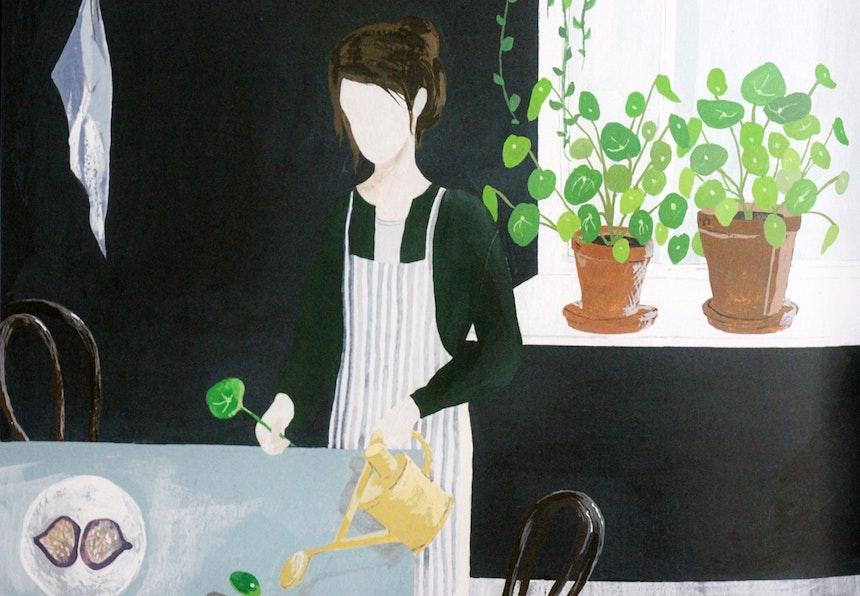 Illustration, Saar Manche, Ausschnitt aus dem Buch