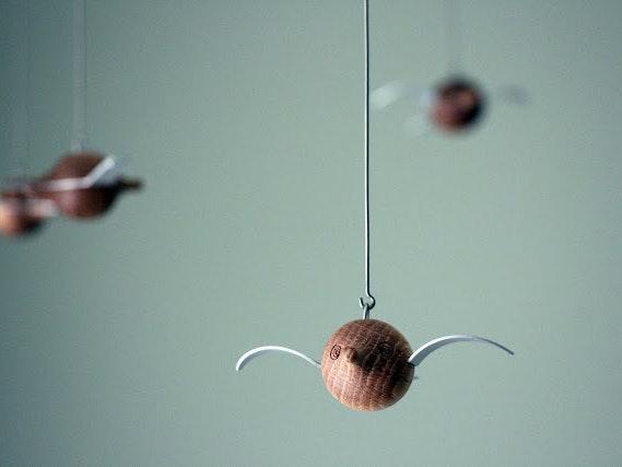 Woody Birdie Mobile By Hans Gustav Ehrenreich 1