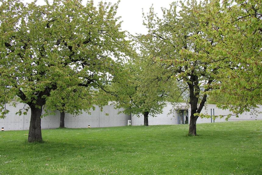 In eine Senke gebaut: der Conference Pavillon, Tadao Ando, 1993